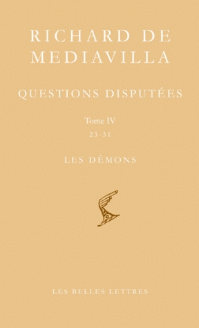 Questions disputées. Tome IV