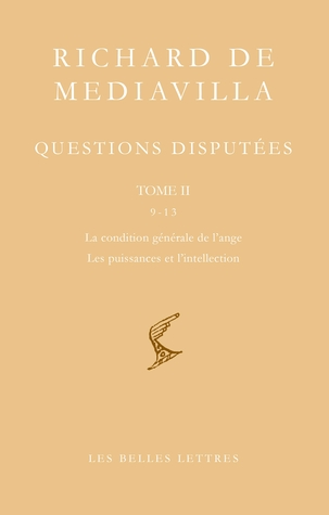 Questions disputées. Tome II